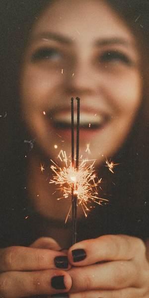 Sparklers joy